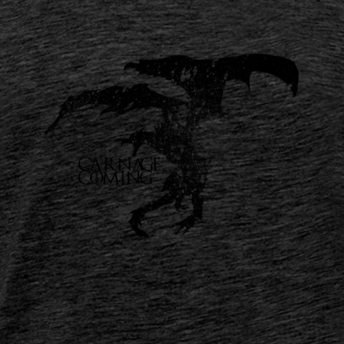 Carnage is Coming (Black) - Men's Premium T-Shirt