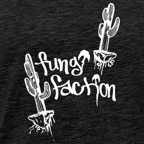 Floating Desert Cactus - Fungi Faction - Men's Premium T-Shirt