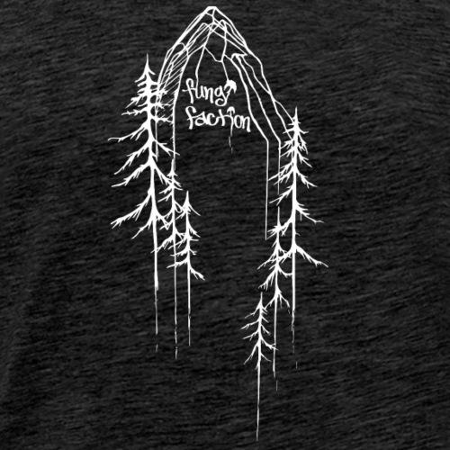 Mushroom Mountain - Fungi Faction - Men's Premium T-Shirt