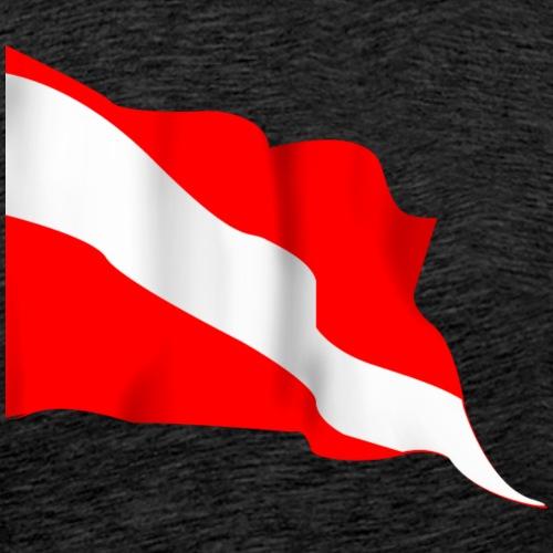 DIVE FLAG Diving/Tauchen/busseig/Mergulho/Buceo - Men's Premium T-Shirt