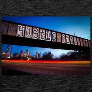 Husttle City Bridge - Men's Premium T-Shirt