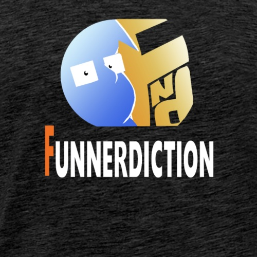 Funnerdiction Shirt Logo - Men's Premium T-Shirt