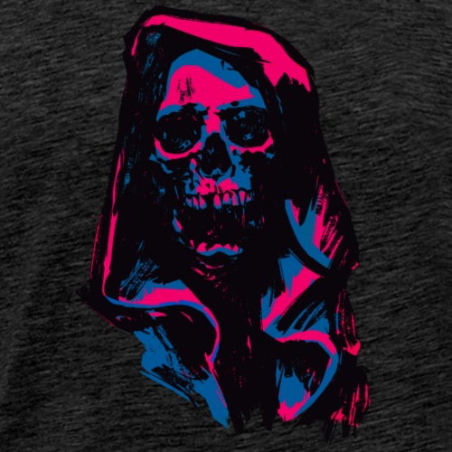 Death Pink & Blue - Men's Premium T-Shirt