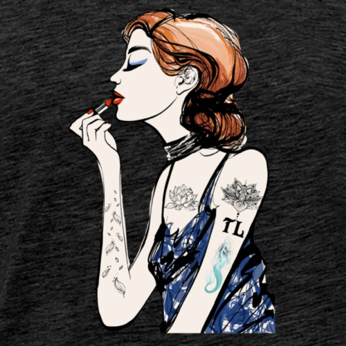 Tattooed Makeup Artist - Men's Premium T-Shirt