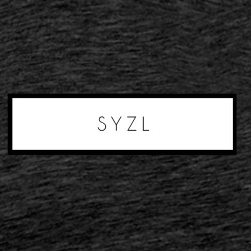 SYZL White Logo - Men's Premium T-Shirt