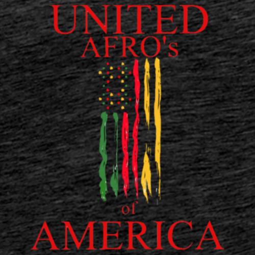 UNITED AFRO'S OF AMERICA - Men's Premium T-Shirt