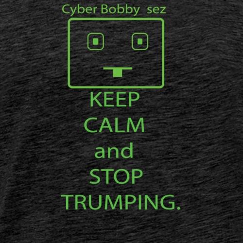 Cyber Bobby sez - Men's Premium T-Shirt
