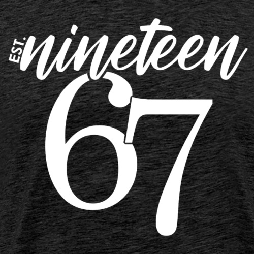 Est. 1967 - Men's Premium T-Shirt