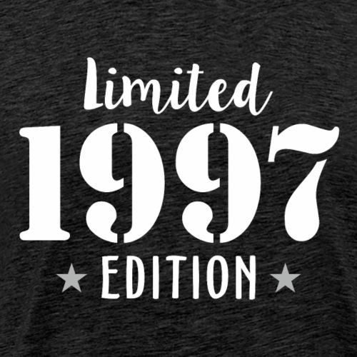 Limited 1997 Edition Birthday T Shirts Dark - Men's Premium T-Shirt