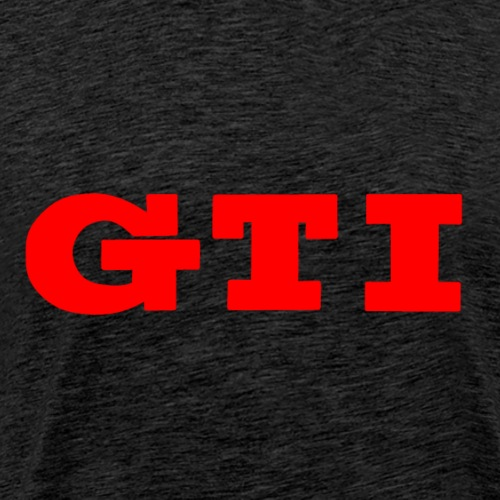 gti logo full red - Men's Premium T-Shirt