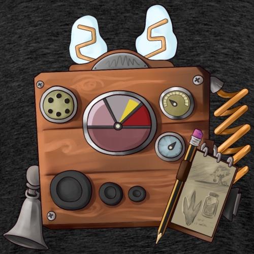Cluefinder Back Bling - Men's Premium T-Shirt
