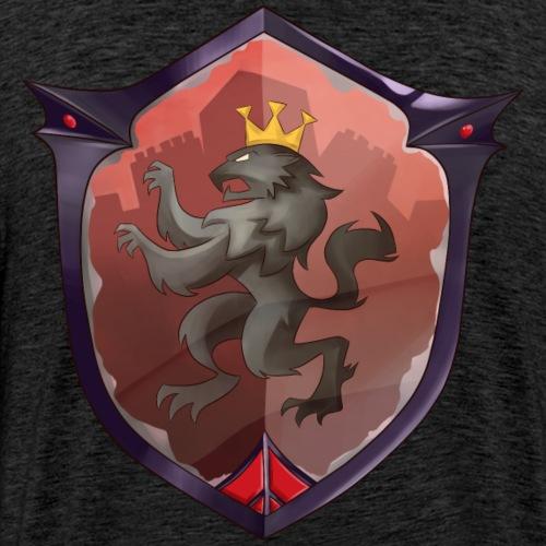 Red Knight Back Bling - Men's Premium T-Shirt