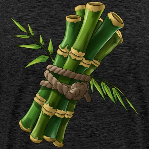 P.A.N.D.A. Team Leader Back Bling - Men's Premium T-Shirt