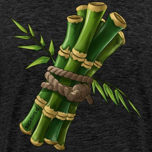 Bamboo Back Bling - Men's Premium T-Shirt