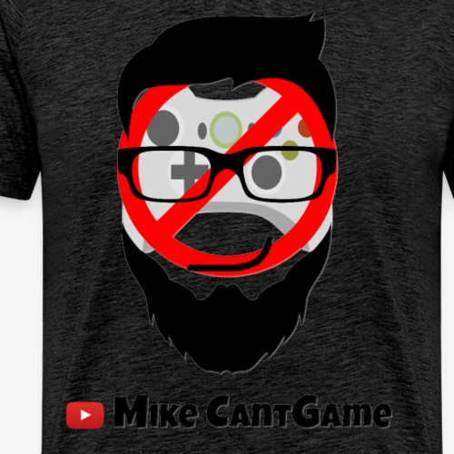 Mike CantGame Face & Name - Men's Premium T-Shirt