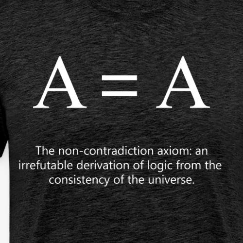 A = A Light - Men's Premium T-Shirt