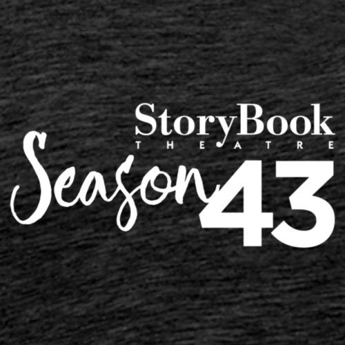 SBT43 Season43 LOGO WHT - Men's Premium T-Shirt