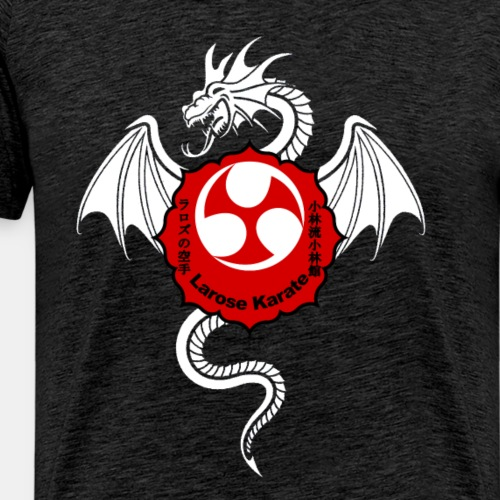 Dragon (W) - Larose Karate - Design Contest 2017 - Men's Premium T-Shirt