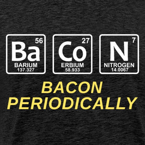 Bacon Periodically - Men's Premium T-Shirt