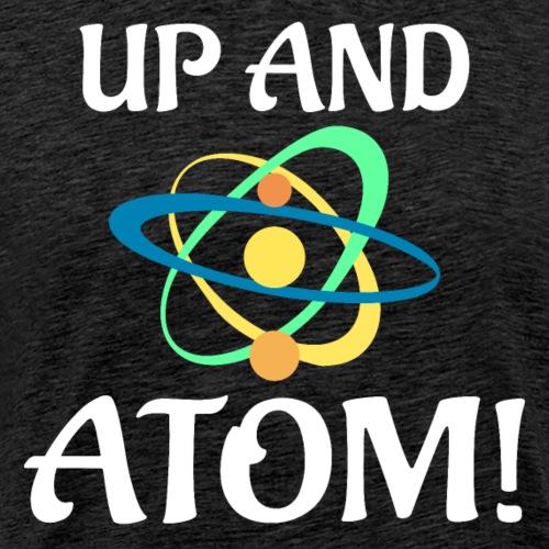 Up And Atom L - Men's Premium T-Shirt