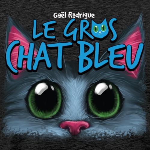 Le Gros Chat Bleu - v1 - T-shirt premium pour hommes