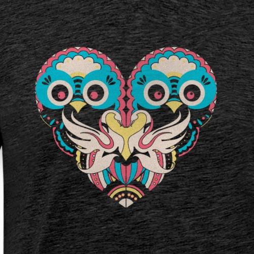 Cool Couple Heart Design Artistic Shirt