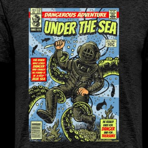 Under the Sea Comic Adventure - Men's Premium T-Shirt