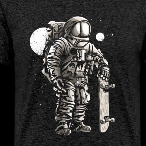 Spaceman Skater - Men's Premium T-Shirt