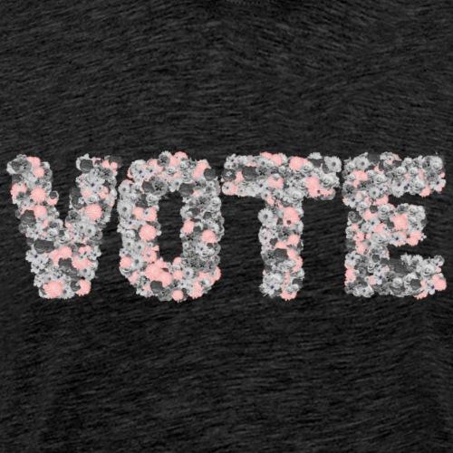Floral Vote - Men's Premium T-Shirt