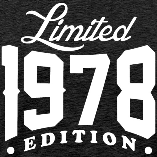 Born In 1978 Limited Edition - Men's Premium T-Shirt