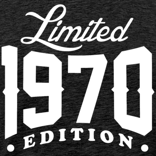 Born In 1970 Limited Edition - Men's Premium T-Shirt