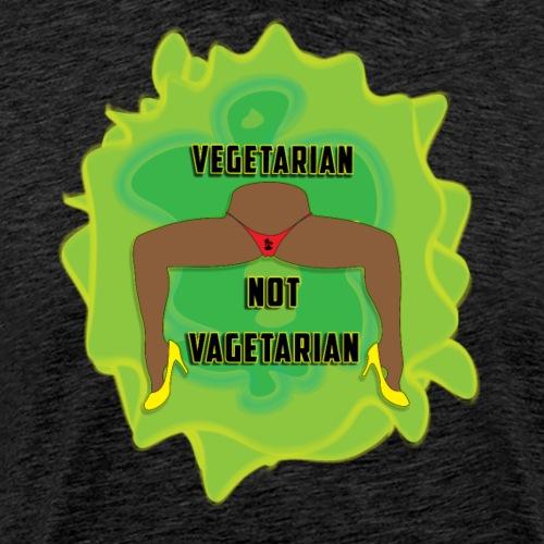 vegetarian T's - Men's Premium T-Shirt