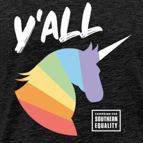Y'All Unicorn - Men's Premium T-Shirt