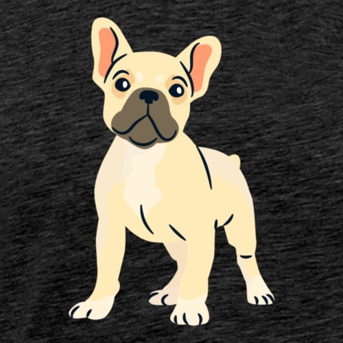 french bulldog puppy - Men's Premium T-Shirt