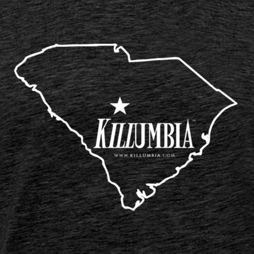 Killumbia Map (white) - Men's Premium T-Shirt