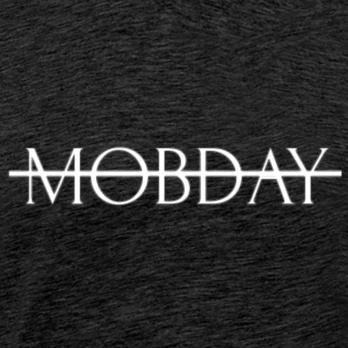 Mobday Cross Out Logo - Men's Premium T-Shirt