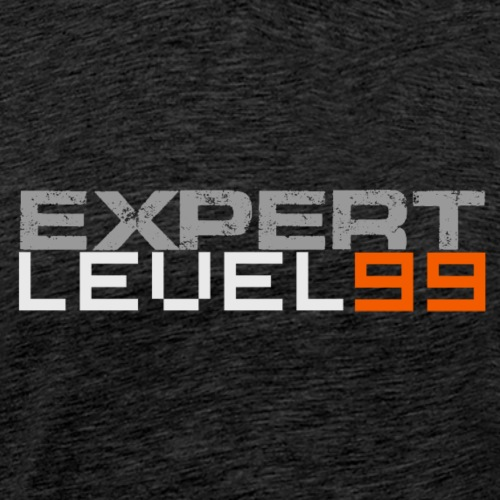 Expert Level 99 [Light on Dark] - Men's Premium T-Shirt