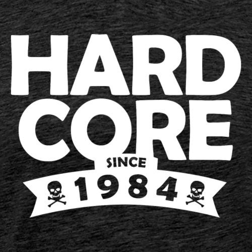 hard core since 1984 - Men's Premium T-Shirt
