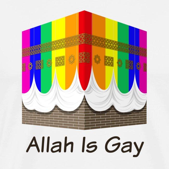 Allah Is Gay - Rainbow Kaaba