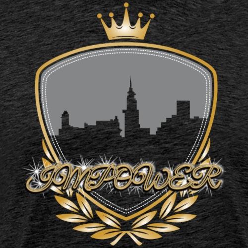 Impower Cityscape Design - Men's Premium T-Shirt