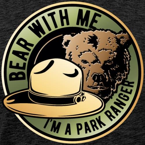 Bear Park Ranger - Men's Premium T-Shirt