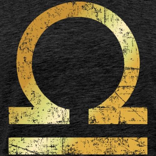 Zodiac Sign Libra – The Sign of Libra - Men's Premium T-Shirt