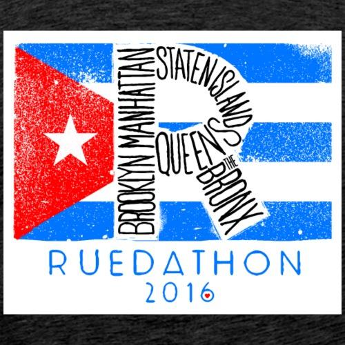 Ruedathon_WhiteShirt_2016 - Men's Premium T-Shirt