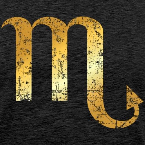 Zodiac Sign Scorpio – The Sign of Scorpio - Men's Premium T-Shirt