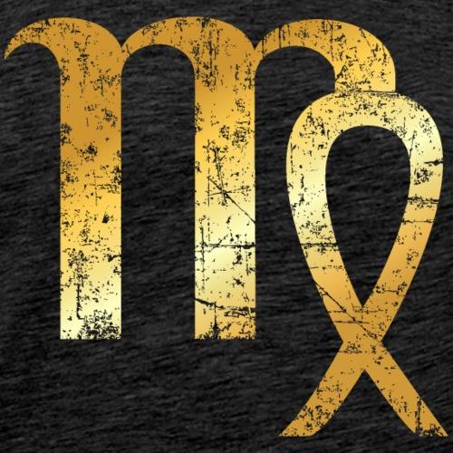 Zodiac Sign Virgo – The Sign of Virgo - Men's Premium T-Shirt