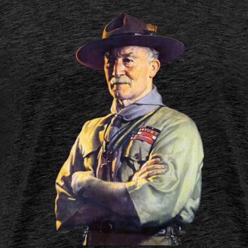 Robert Baden Powell - Men's Premium T-Shirt