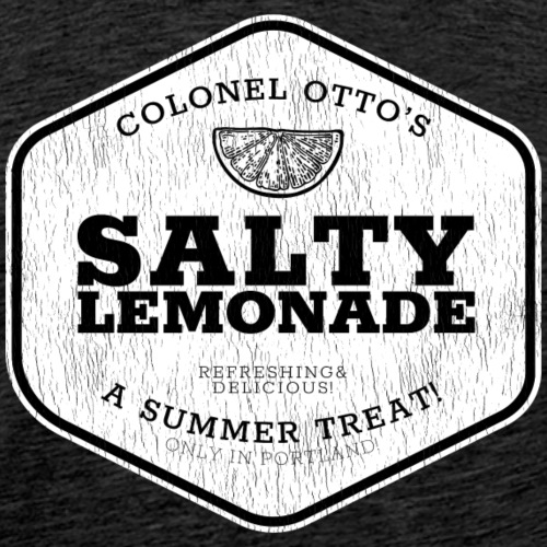 salty lemonade aged - Men's Premium T-Shirt