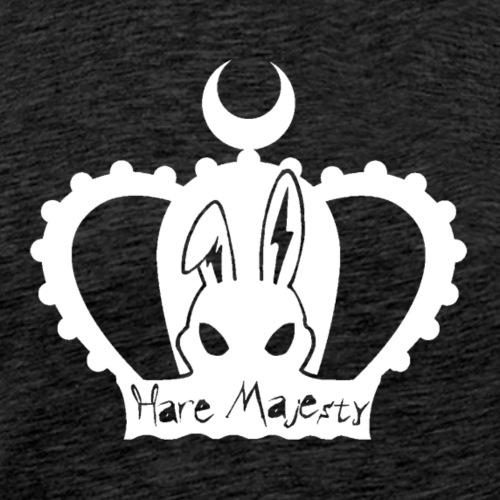Hare Majesty (White) - Men's Premium T-Shirt