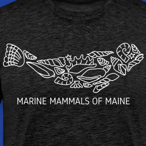 MMoME Shell Seal-White - Men's Premium T-Shirt