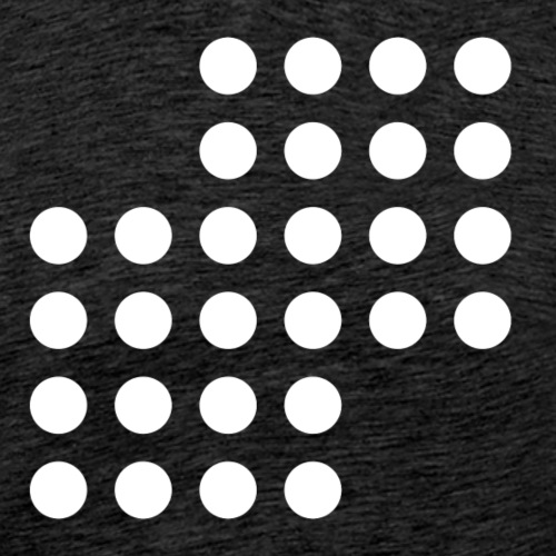 Math Dots - Men's Premium T-Shirt